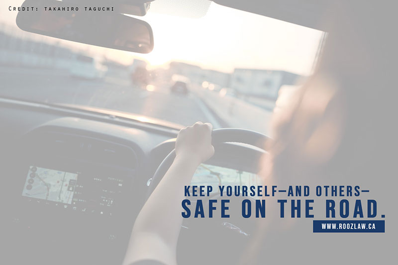 Keep yourself—and others— safe on the road.
