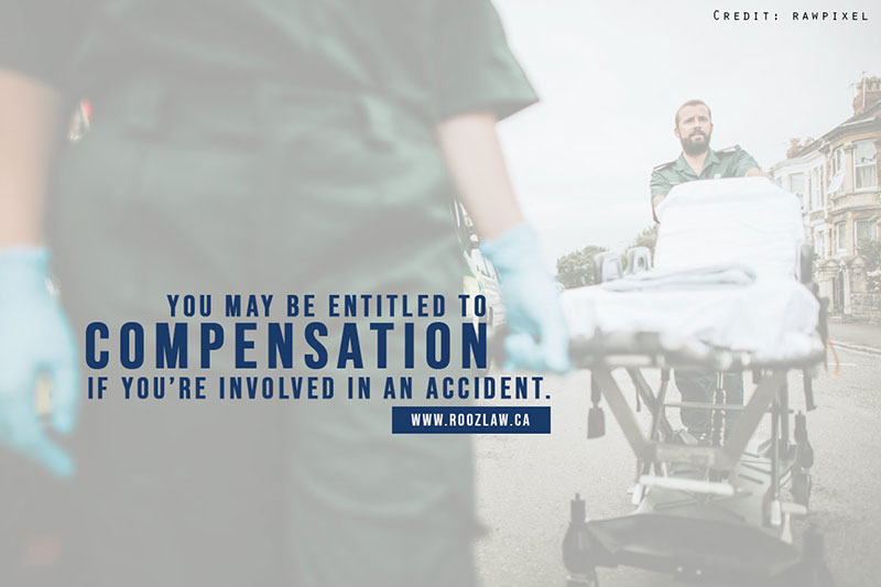 You may be entitled to compensation if you're involved in an accident.