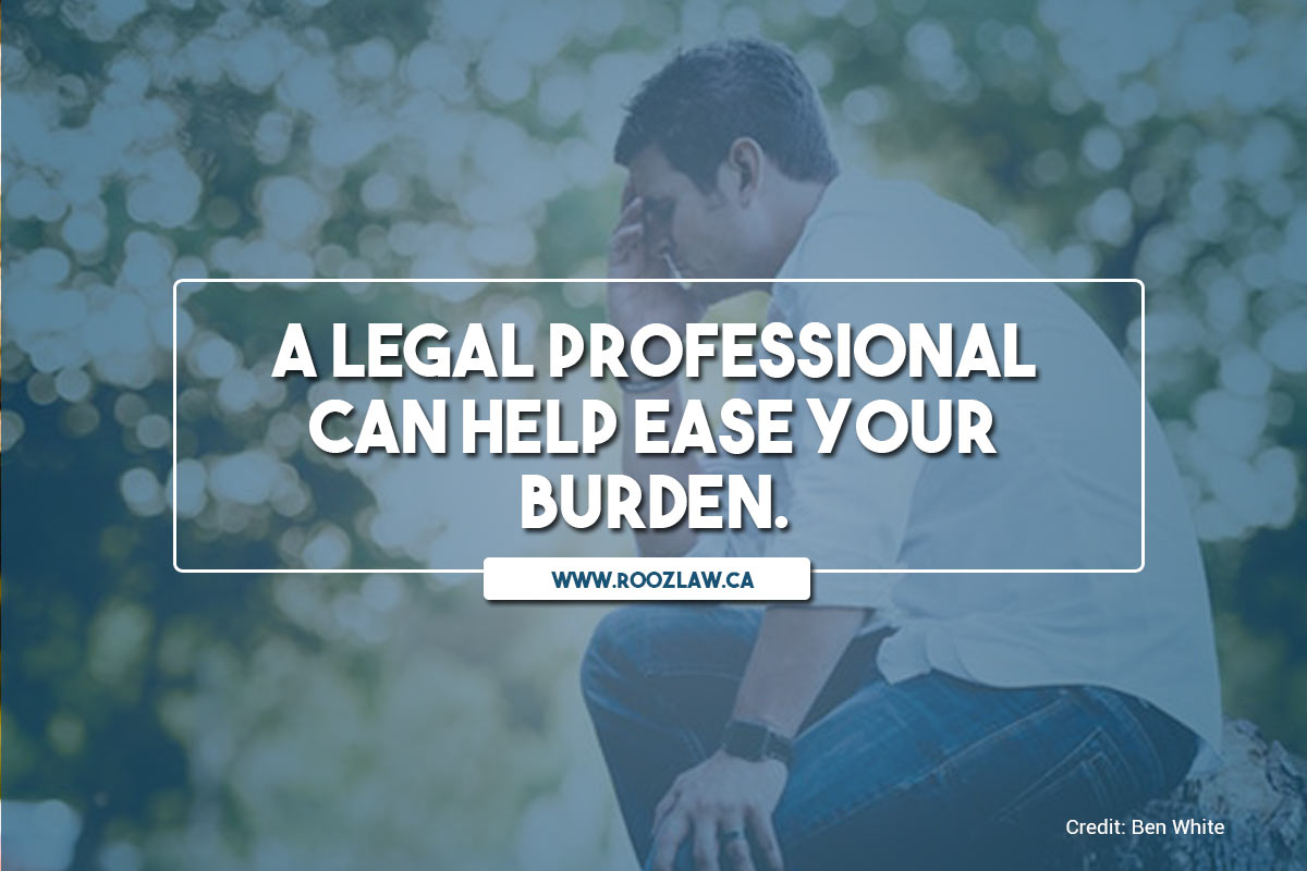 A legal professional can help ease your burden.