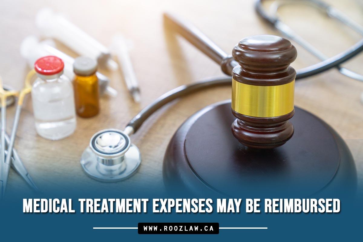 Medical treatment expenses may be reimbursed
